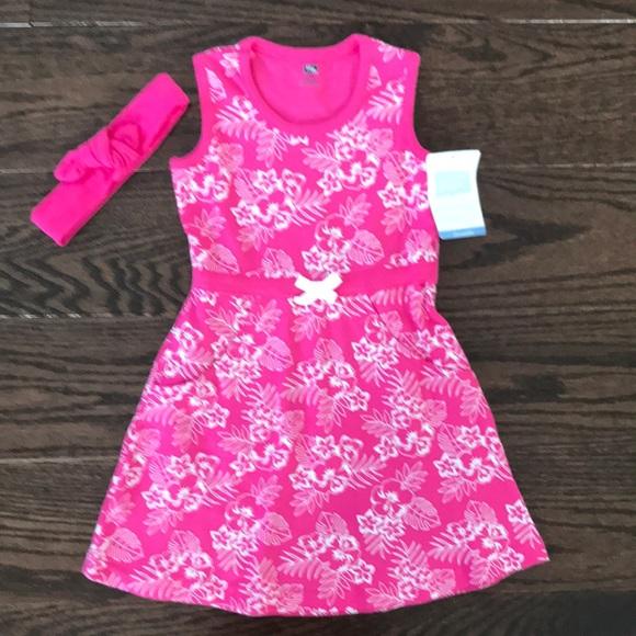 e5c091628 Hudson Baby Dresses | New Tropical Print Dress Headband Set | Poshmark